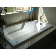 Designer Solo  72 x 36 Whirlpool Bathtub by Hydro Systems