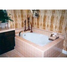 Builder Hourglass 60 x 42 Whirlpool Bathtub by Hydro Systems