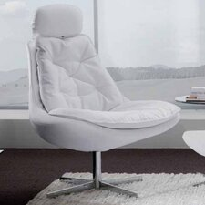 Daya Upholstered Lounge Chair by Bontempi Casa