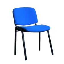 Armless Multipurpose Seating Conference / Meeting Stacking Chair with Cushion (Set of 20)