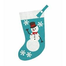 North Pole Frosty Friend Stocking