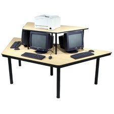 Computer Table with Cable Management