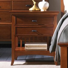 Carolyn 2 Drawer Nightstand by Darby Home Co®
