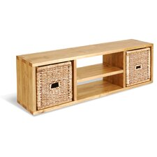 """Classic Pine TV Stand for TVs up to 59"""""""