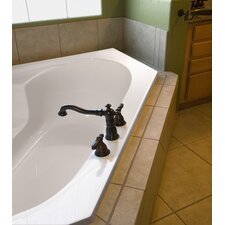 Designer Rincon 59 x 59 Soaking Bathtub by Hydro Systems