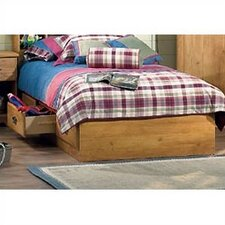 Prairie Twin Mates Bed with Storage by South Shore