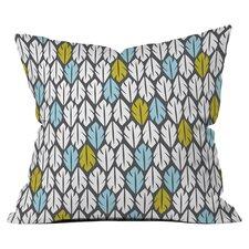 Heather Dutton Foliar Throw Pillow by DENY Designs