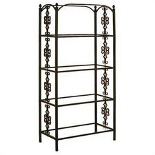 Gothic 79 Etagere Bookcase by Grace Collection