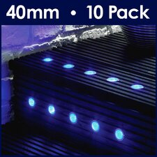 10 Piece LED Deck, Step and Rail Lights Set