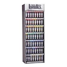 Professional Soft Body Acrylic Paint Display Assortments
