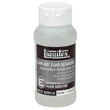 Acrylic Mediums Slow-Dri Fluid Retarder Paint Bottle