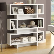 55 Accent Shelves Bookcase by Monarch Specialties Inc.