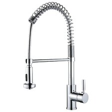 Spring Pull-Out 1 Handle Bar Faucets