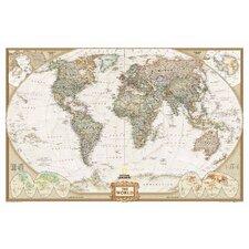 World Executive Wall Map