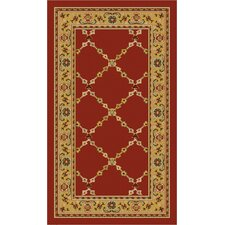 Premier Red Brick Area Rug