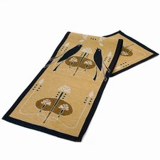 Motawi Songbirds Table Runner