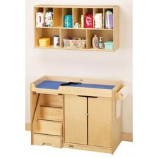 KYDZ Changing Table with Stairs by Jonti-Craft