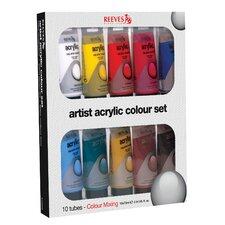 Acrylic Paint Color (Set of 10)