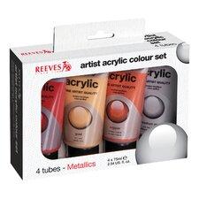 Acrylic Paint Color (Set of 4)