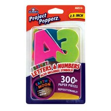 Project Count Popperz Letters, Numbers and Symbols (Set of 2)