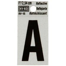Reflective Letter Sign (Set of 10)