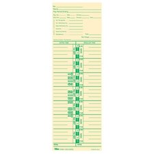 Payroll Calculation Time Card
