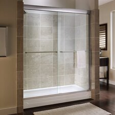 Custom Tuscany 71.25 x 60 Bypass Frameless Shower Door by American Standard