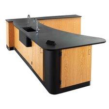 Sink-In Peninsula Workstation