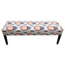 Calandra Cotton Crown Bedroom Bench by Sole Designs