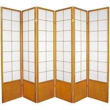 """70.25"""" x 84"""" Asian Zen 6 Panel Room Divider"""
