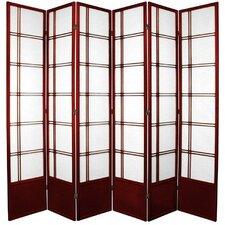 83.5 Double Cross Shoji Room Divider by Oriental Furniture
