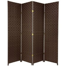 "71"" x 57"" All Weather 4 Panel Room Divider"