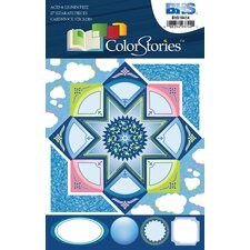ColorStories Cardstock Stickers (Set of 4)