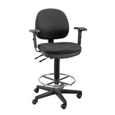 Zenith Mid-Back Drafting Chair