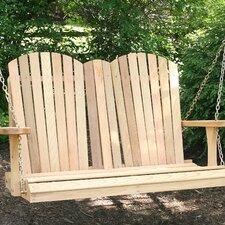 Cedar Porch Swing by Creekvine Designs