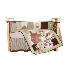 Jungle Spa 4 Piece Crib Bedding Set by Tadpoles