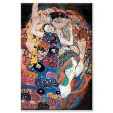 Embrace by Gustave Klimt Painting Print on Canvas