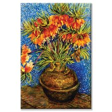Fritillaries by Viencent Van Gogh Painting Print on Wrapped Canvas