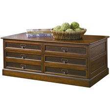 Mercantile Trunk Coffee Table with Lift-Top  by Hammary