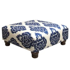 Diamond Upholstered Ottoman by Skyline Furniture