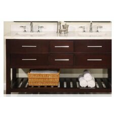 Priva 60 Double Bathroom Vanity by Empire Industries