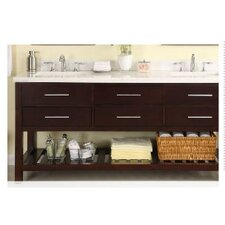 Priva 72 Double Bathroom Vanity Base by Empire Industries
