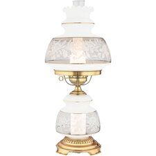 "Satin Lace 24"" Table Lamp"