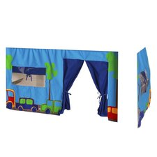 Childrenz Bunk Bed Print Tent