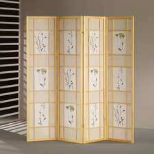 70 x 68 Shoji 4 Panel Room Divider by Wildon Home ®