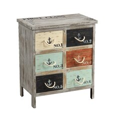 6 Drawer Accent Chest by Coast to Coast Imports LLC