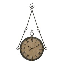 "Oversized 25.25"" Alexander Hanging Wall Clock"