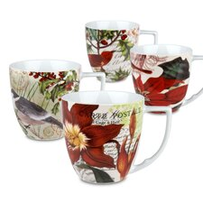 Accents Traditions 12 oz. Mug (Set of 4)