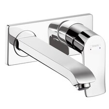 Metris Single Handle Wall Mounted Faucet Trim