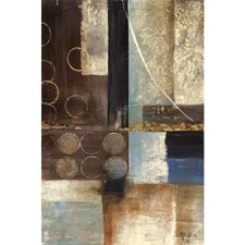 New Artwork Unlocking Mystery I Painting on Wrapped Canvas